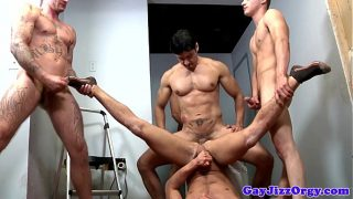 Very rough group hookup for Alex Andrews